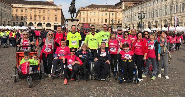 Torino i volontari della hope running di chivasso alla for Rosa dei mobili torino